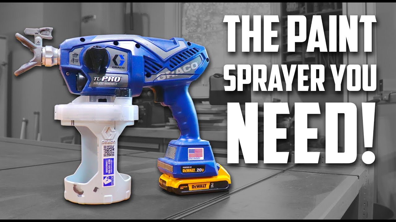 Best Cordless Airless Paint Sprayer? // Graco Tc Pro & Ultra Review