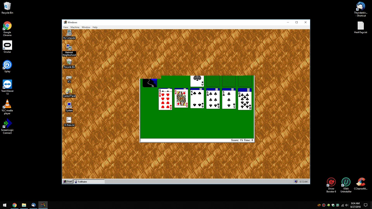 Run Windows 95 as a Portable App