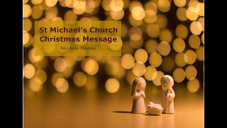 A Christmas message 2020 from Rev Huw Thomas