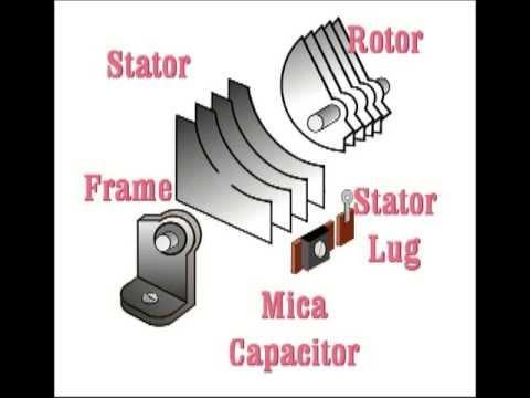 Understanding Tuning Capacitors: Antique Radio