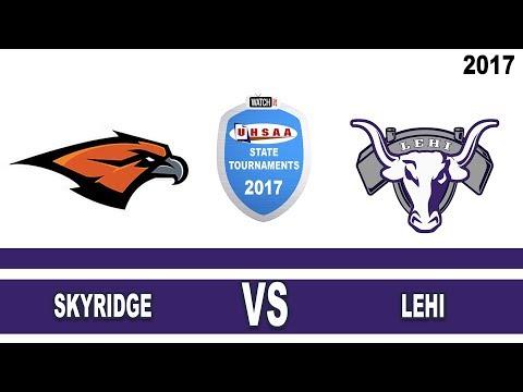5A Football Skyridge vs Lehi High School UHSAA 2017 State Tournament Championship