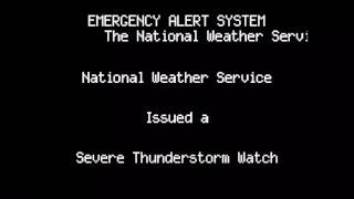 VALID TONES - Severe Thunderstorm Watch for New Jersey