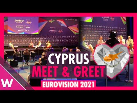 "Cyprus Press Conference: Elena Tsagrinou ""El Diablo"" @ Eurovision 2021"