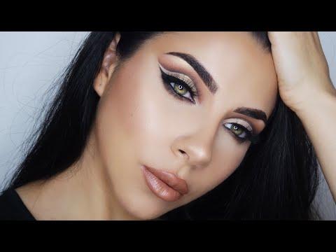EASY Cut Crease Eye Shadow tutorial   TINAKPROMUA