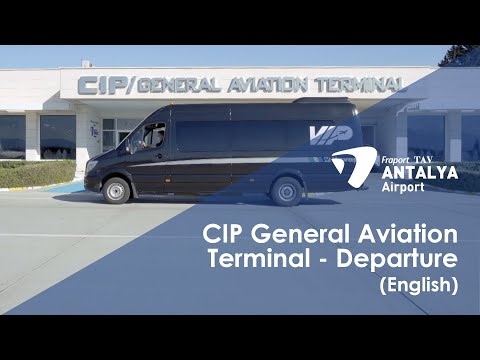 CIP Services/General Aviation Terminal - Departure I English