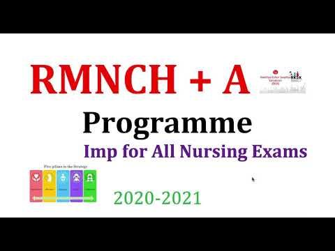MCQs on Community Health Nursing 2020 || Series -2nd| RMNCH+A Programme | Imp for CHO, HPSSSB  CRPF