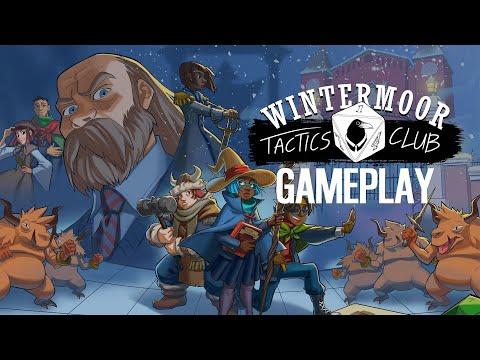 Wintermoor Tactics Club - 18 Minutes of Gameplay  