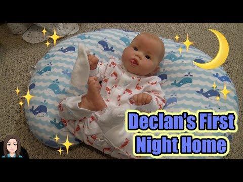 Reborn Baby Declan's First Night Home!   Kelli Maple