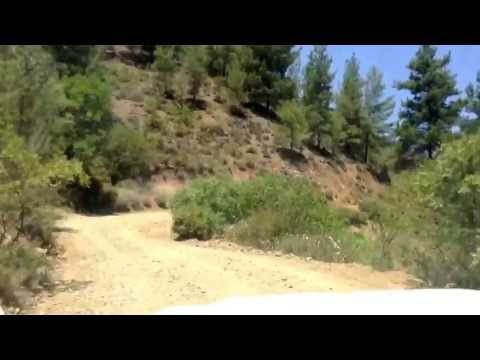 JEEP SAFARI IN TROODOS MOUNTAINS,CYPRUS (14th july 2013)
