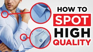 10 Tricks To Spot HIGH Quality Clothes! (Men's Style Tips)