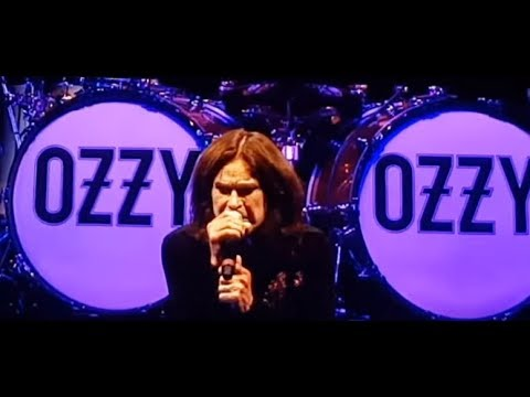 Ozzy Osbourne performed in Moscow, Russia - June 1 2018 - setlist - video links