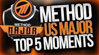 Method NA Major Top 5 Plays