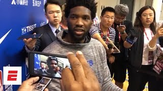 Joel Embiid, Julius Erving on NBA China Games helping fans 'fall in love with the league'