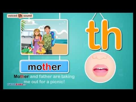 Voiced Digraph /th/ Sound - Phonics by TurtleDiary