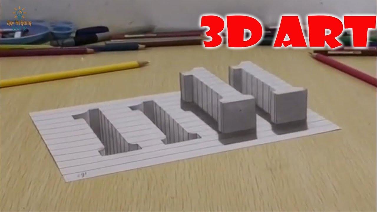 Đỉnh cao của vẽ 3D trên giấy là đây chứ đâu. Nhìn cứ như thật 100% (p3)