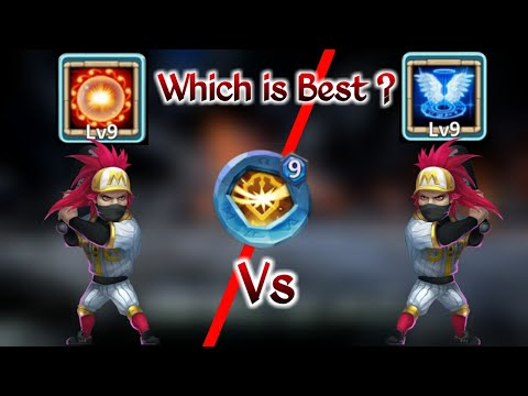 Ronin | 9/9 Revive Vs 9/9 Scorch | 6 Base | Pure Test | Which Is Best..? | Castle Clash