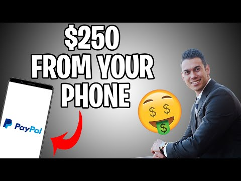 Make $250 Per Day From Your Phone (Make Money Online For Free)