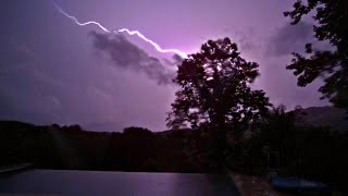 Insane Lightning in Slow Motion
