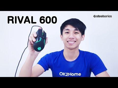 รีวิว Steelseries Rival 600 เมาส์เทพๆ สำหรับเซียนตัวจริง