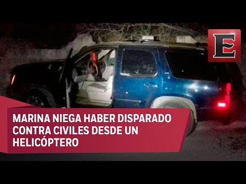 Familia abatida en Nuevo Laredo por enfrentamiento entre marinos y criminales