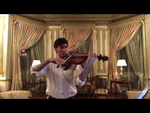 Walton Viola Concerto Masterclass first mvt David Aaron Carpenter