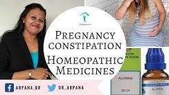 प्रेगनेंसी में कॉन्स्टिपेशन व होम्योपैथिक दवाई || CONSTIPATION IN PREGNANCY Homeopathic Medicines