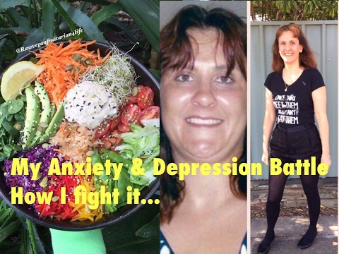 My Anxiety and Depression Story: Raw Vegan 80/10/10