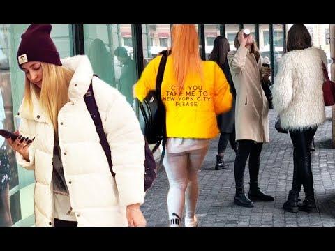 Как выглядят россияне - что надето, стритстайл - Петербург Street Fashion Style осень Как одеваются