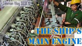 How To Start The Ship\x27s Main Engine : From Preparation to Full Away