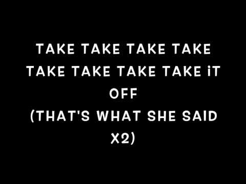 Janoskians - That's what she said lyrics