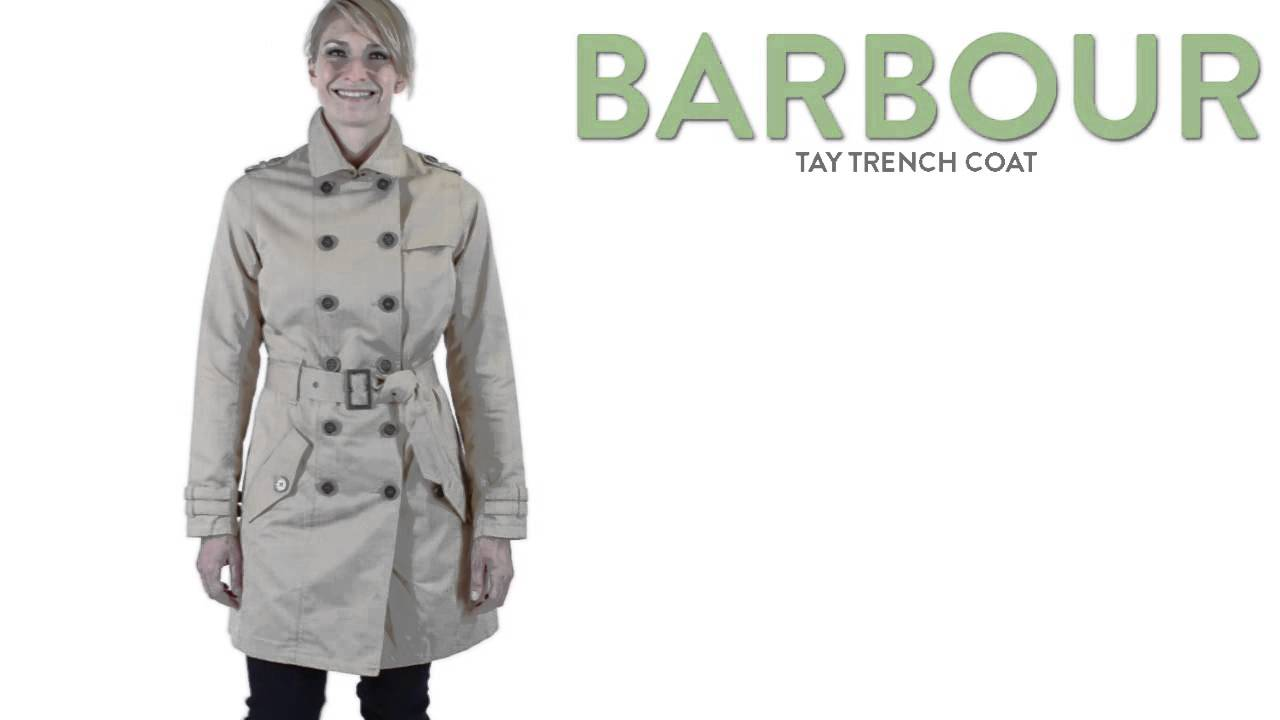 barbour trenchcoat tay