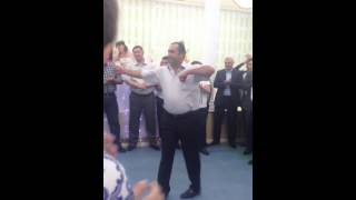Свадьба в Закатале,Гости из Дагестана
