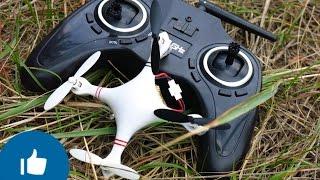 ✔✔✔ Eachine CG022 Полный обзор и полеты на квадрокоптере с Headless режимом! Banggood