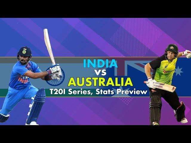 India vs Australia, T20I Series: Stats Preview