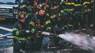 [ Manhattan 10-76 Box 577 ] All-Hands Fire on the First Floor Destroys Vacant Storefront
