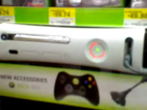Xbox 360 Red Ring Of Death at Wal-Mart