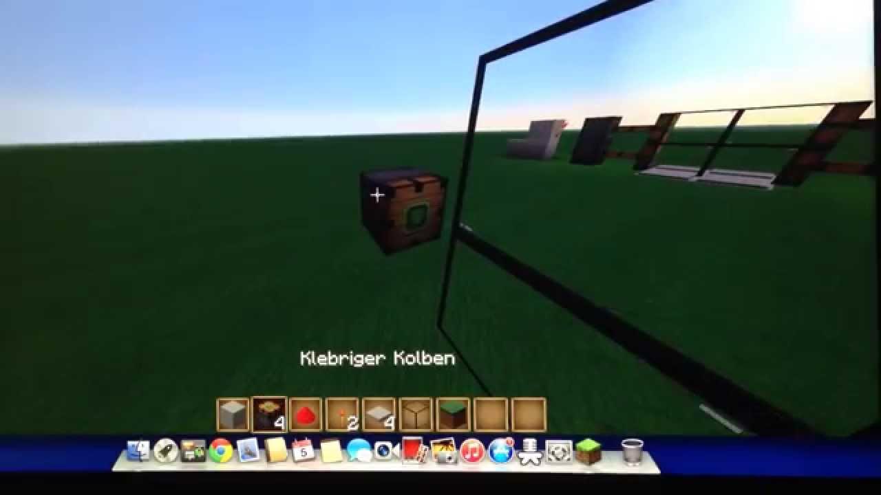 minecraft tutorial automatische glast r bauen youtube. Black Bedroom Furniture Sets. Home Design Ideas