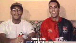Romário e edmundo - rap dos bad boys