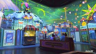 NEW! Mickey & Minnie's Ride - Trackless Dark Ride - RunAway Railway - Disney World