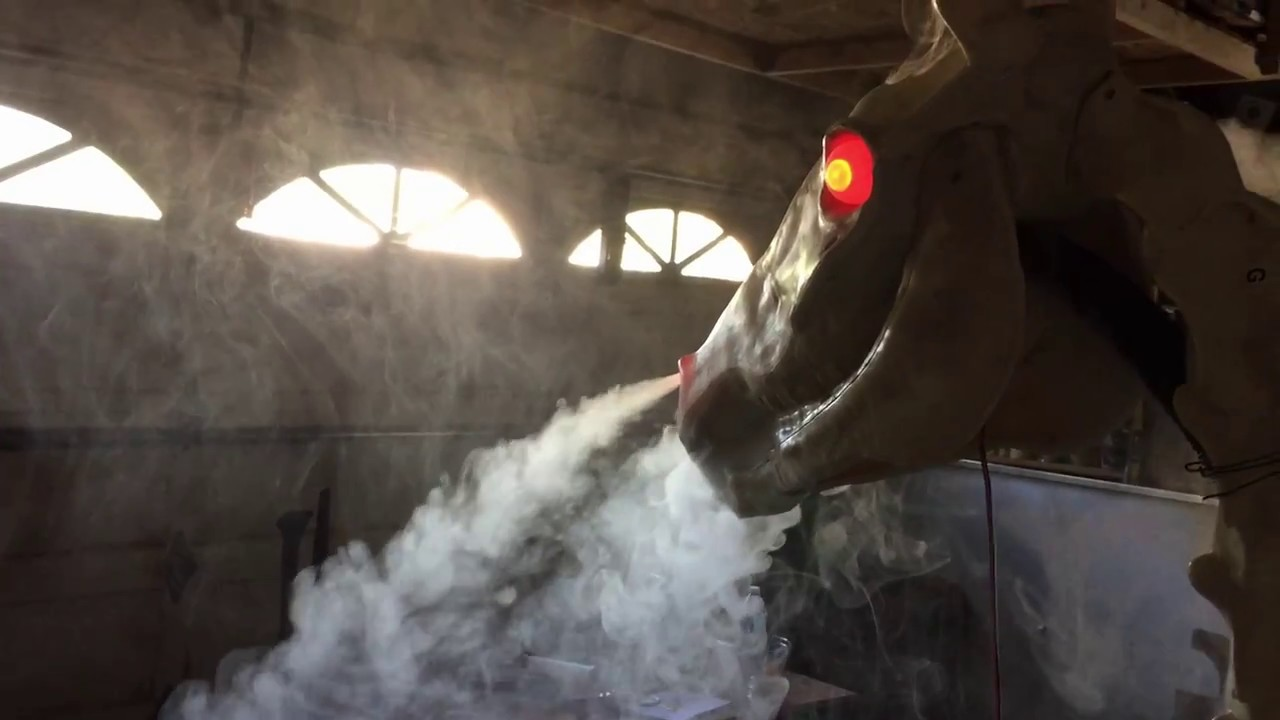 halloween 2017 horse skeleton modification - youtube