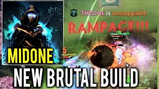 MidOne Dota 2 [PA] NEW MOST BRUTAL BUILD Rampage !