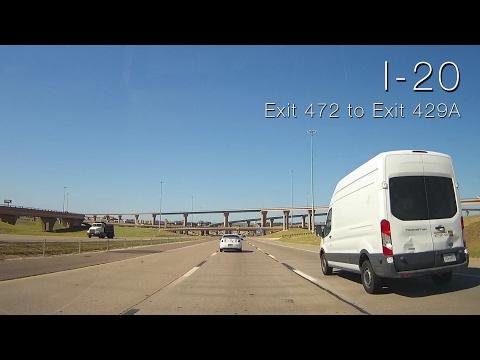 I-20: Dallas to Fort Worth