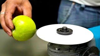 Experiment: Paper VS Apple | When there is no knife in the House!!!