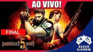 Resident Evil 5 FINAL 🔴 AO VIVO