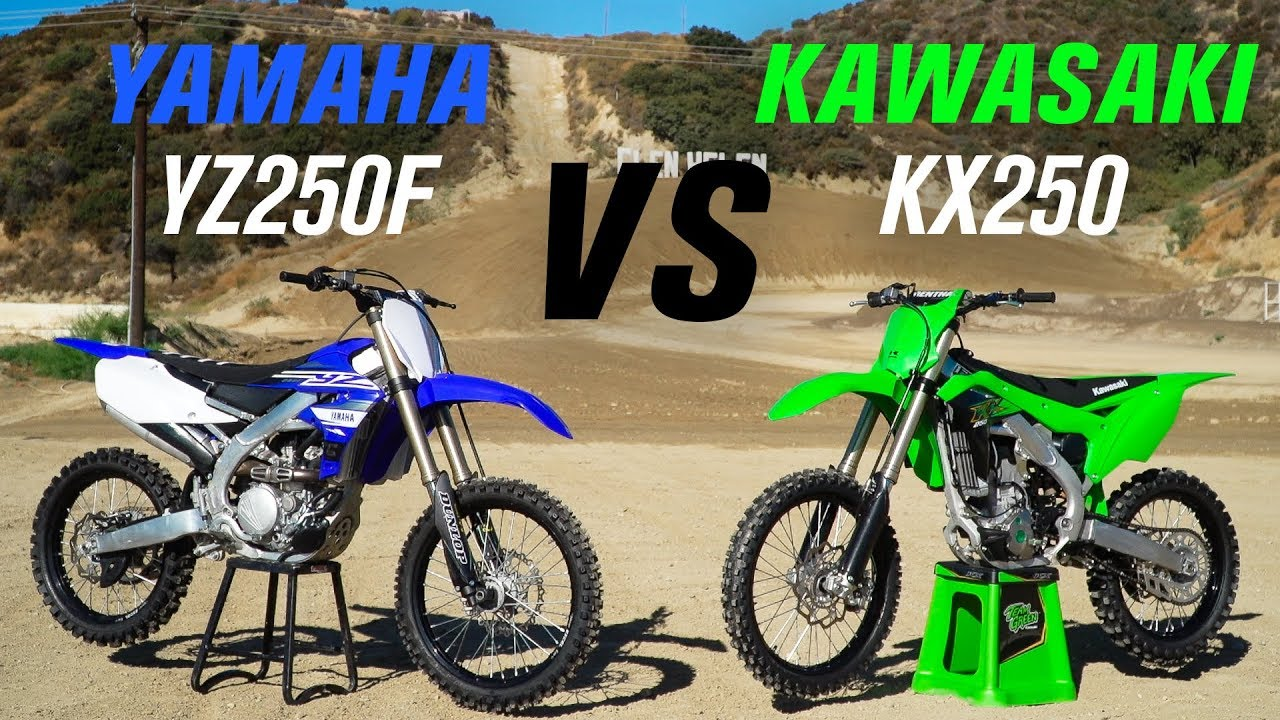 video Kawasaki KX 250