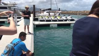 Reef Fish Feeding, One & Only Hayman Island Resort, Whitsunday Islands, Australia