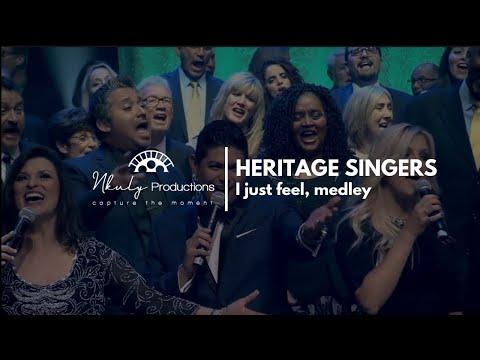 HERITAGE SINGERSI Just FeelMedley45th Reunion Concert