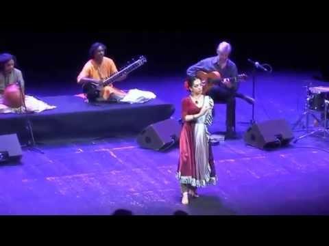 Kathak & Flamenco fusion - Svetlana Tulasi & Indialucia - Zambra