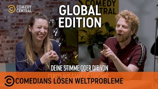 Comedians Lösen Weltprobleme – Social-Media-Sucht