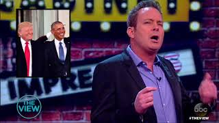 Dave Burleigh Impersonates Presidents, A-Listers | The View